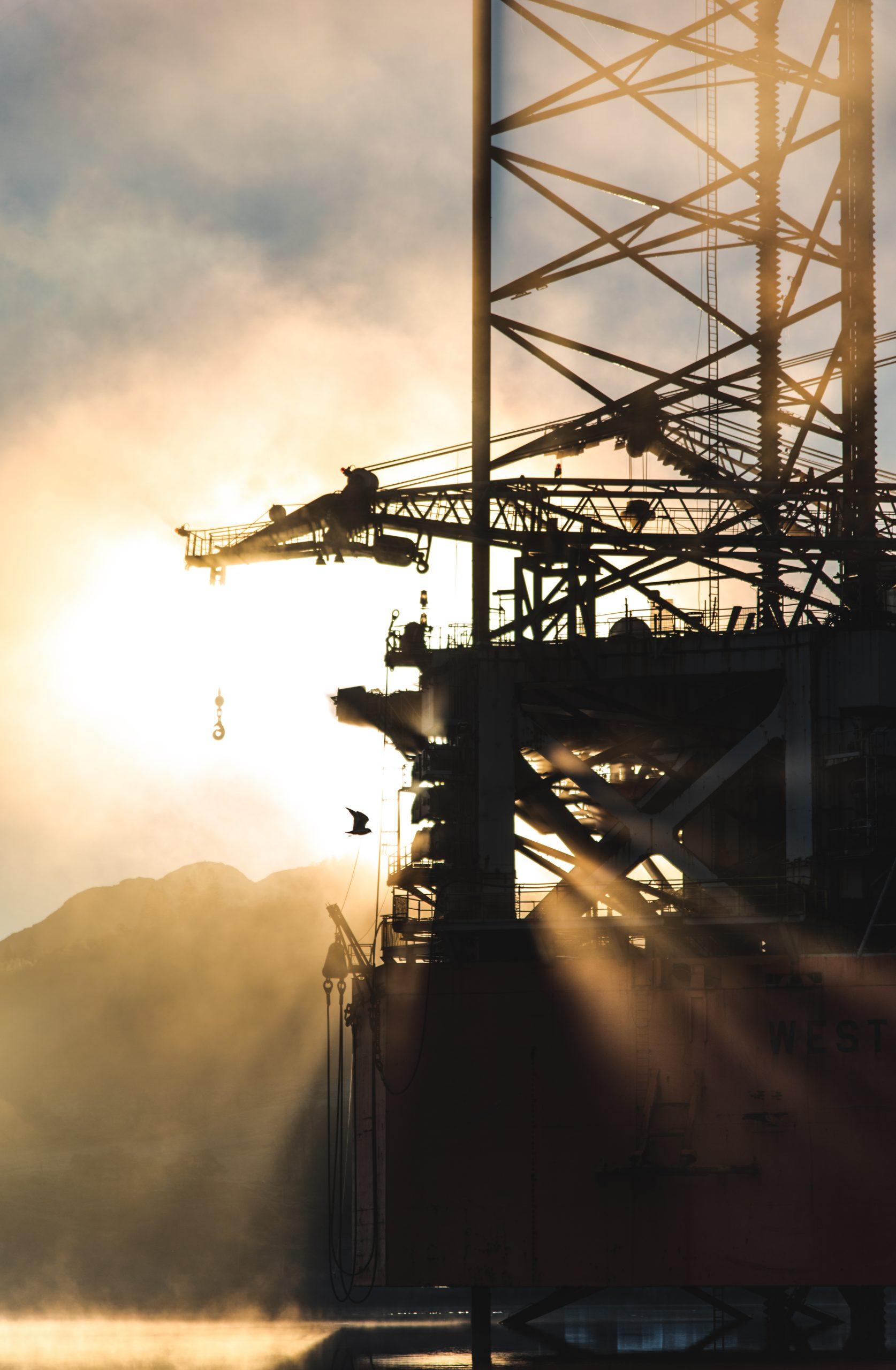 Canva - Photo of Oil Rig Platform