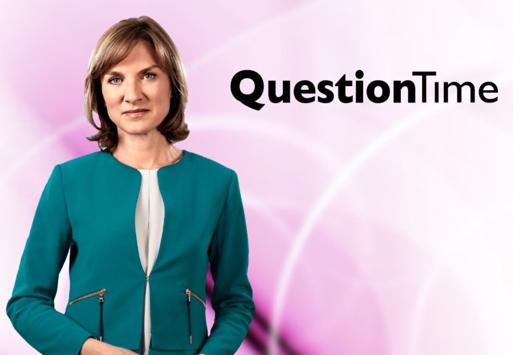 How Fiona Bruce slayed Question Time nerves